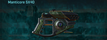Amerish brush pistol manticore sx40