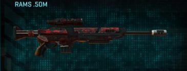 Tr digital sniper rifle rams .50m