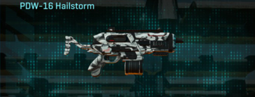 Forest greyscale smg pdw-16 hailstorm