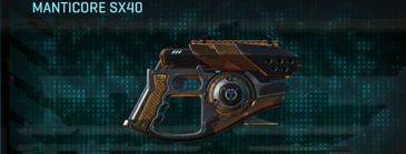 Indar rock pistol manticore sx40