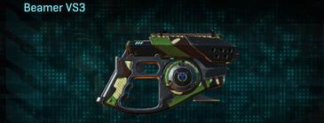 African forest pistol beamer vs3
