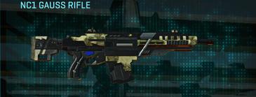 Palm assault rifle nc1 gauss rifle