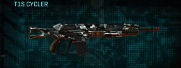 Indar dry brush assault rifle t1s cycler