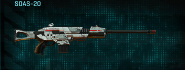 Rocky tundra scout rifle soas-20