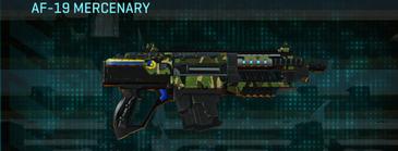 Jungle forest carbine af-19 mercenary
