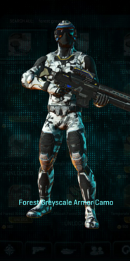 Nc forest greyscale infiltrator
