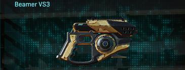 Sandy scrub pistol beamer vs3