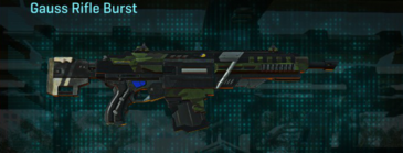 Amerish leaf assault rifle gauss rifle burst