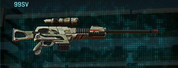 California scrub sniper rifle 99sv