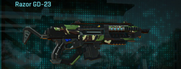 African forest carbine razor gd-23