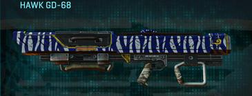 Nc zebra rocket launcher hawk gd-68