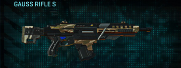 Indar dunes assault rifle gauss rifle s