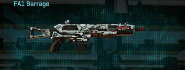 Forest greyscale shotgun fa1 barrage