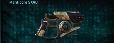 Desert scrub v1 pistol manticore sx40