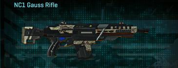 Arid forest assault rifle nc1 gauss rifle