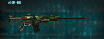 Amerish forest battle rifle amr-66
