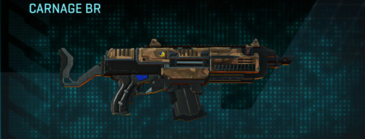 Indar plateau assault rifle carnage br