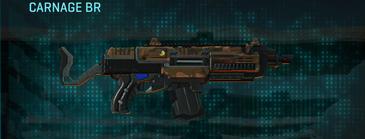 Indar rock assault rifle carnage br