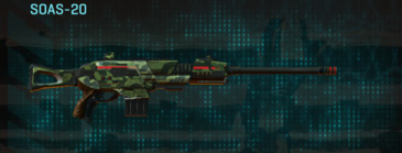 Amerish forest scout rifle soas-20