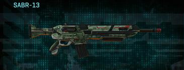 Amerish brush assault rifle sabr-13
