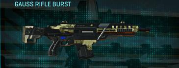 Palm assault rifle gauss rifle burst