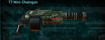 Amerish brush heavy gun t7 mini-chaingun