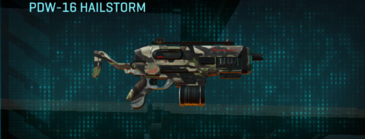 Woodland smg pdw-16 hailstorm