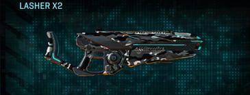 Indar dry brush heavy gun lasher x2