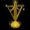 TR Gold Hood Ornament