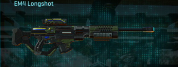 Amerish leaf sniper rifle em4 longshot