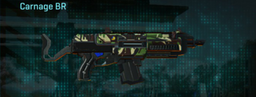 African forest assault rifle carnage br