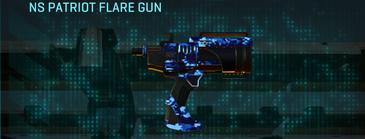 Nc digital pistol ns patriot flare gun