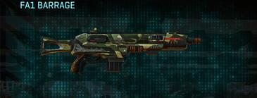 Temperate forest shotgun fa1 barrage