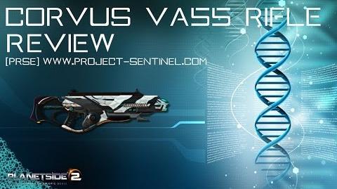 Corvus VA55 - The Titan Review -Planetside 2-