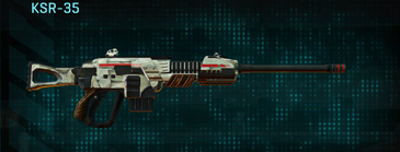 Indar dry ocean sniper rifle ksr-35