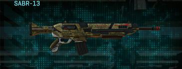 Indar highlands v2 assault rifle sabr-13