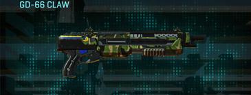 Jungle forest shotgun gd-66 claw
