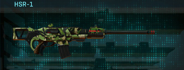 Jungle forest scout rifle hsr-1