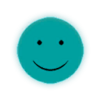Scythe Smiley Face Glass Decal