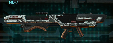 Forest greyscale rocket launcher ml-7