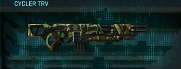 Jungle forest assault rifle cycler trv