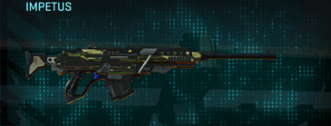 Temperate forest sniper rifle impetus