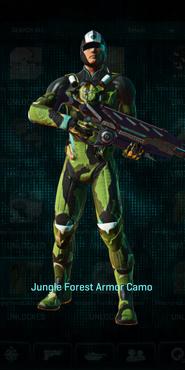 Vs jungle forest combat medic