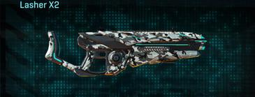 Forest greyscale heavy gun lasher x2