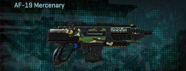 African forest carbine af-19 mercenary