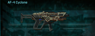 Arid forest smg af-4 cyclone