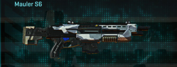 Esamir ice shotgun mauler s6