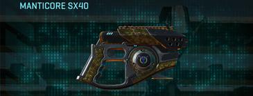 Indar highlands v2 pistol manticore sx40
