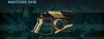 Palm pistol manticore sx40