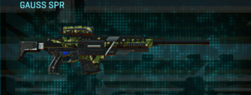 Jungle forest sniper rifle gauss spr